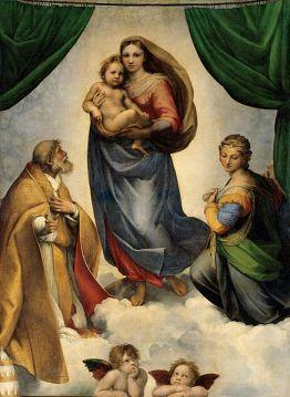 Raphael's Sistine Madonna (1512)
