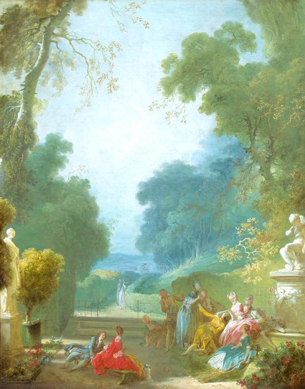 Le Jeu de la main chaude (c. 1775-80) by Jean-Honoré Fragonard
