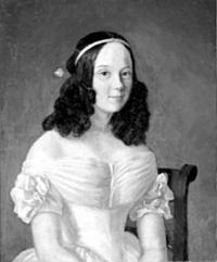 Elena Vel'tman, née Kube (1816-1868)